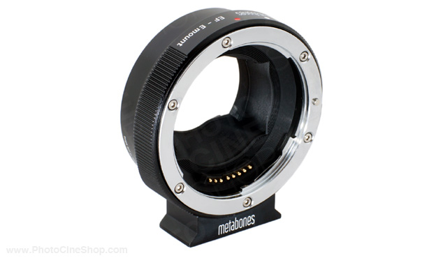 https://photocineshop.com/library/Metabones - Adaptateur Smart Canon EF Lens vers Sony NEX (Mark IV)