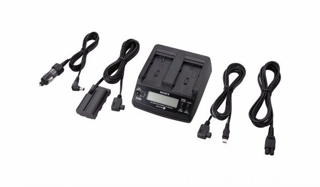 SONY - AC Adapter/Charger For L-Series Batteries