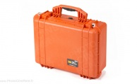 Peli 1520 Case with foam (orange)