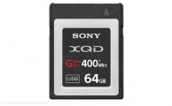 SONY - QDG64A - XQD G Series Memory Card 64Gb (400mb/s)