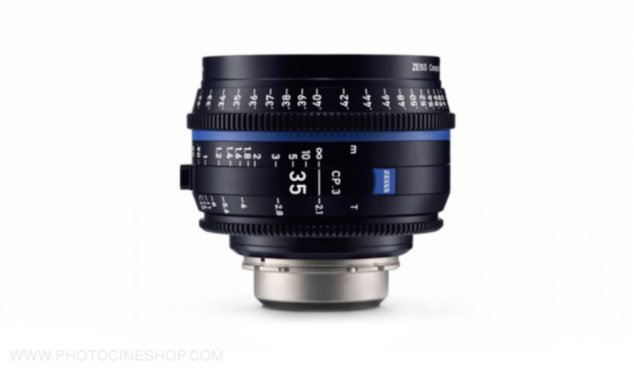 Zeiss Compact Prime CP.3 35mm T2.1 PL XD (pieds)