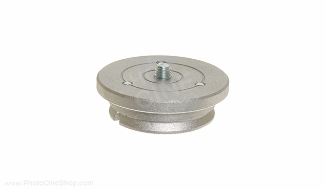 Manfrotto 400PL-MED Quick release plate-med for 400 geared head (3263) 23mm
