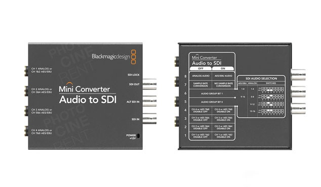 Blackmagic Design Mini Converter Audio to SDI 2