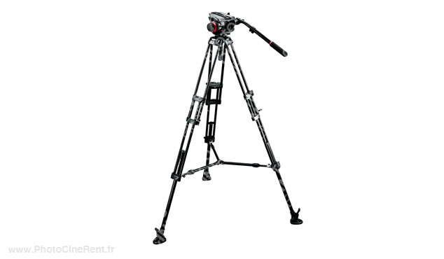 Manfrotto 504HD,546BK Midi Twin Systeme (MS)