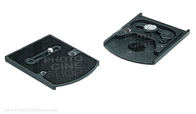 Manfrotto 410PL Accessory plate with 1/4'' and 3/8'' screws
