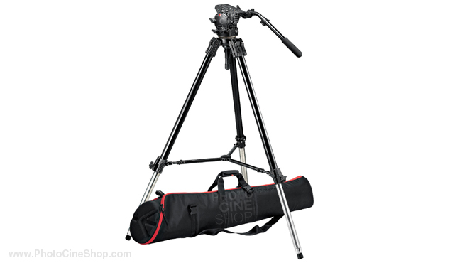 https://photocineshop.com/library/Manfrotto 526,528XBK Tripod system w/526 head