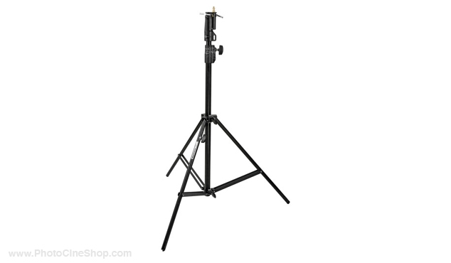 Manfrotto 008BUAC Black aluminium 2-section air-cushioned stand