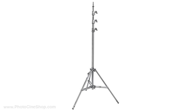 Avenger A0045CS 14.7' baby steel stand 45 with leveling leg (chrome-plated)