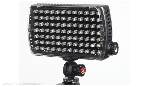 https://photocineshop.com/library/Manfrotto ML840H Led light - maxima-84 hybrid+ (850lx@1m) dimmer, flash, gels