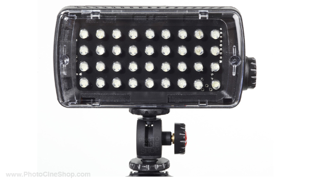 Manfrotto ML360HP Torche led midi plus hybride 36l rotule, var, flash et gél.