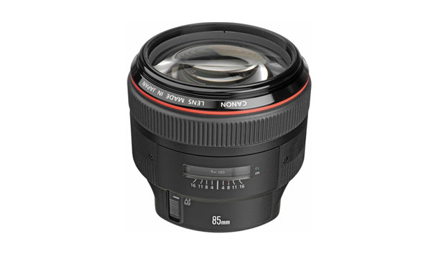 CANON EF 85 mm f/1.2 L II USM + Paresoleil