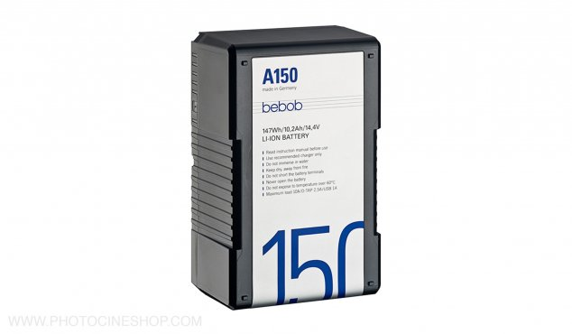 BEBOB - A150 - Gold Mount Li-Ion Battery 14.4V / 147Wh