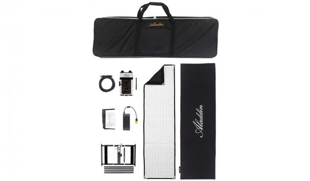 ALADDIN - Bi-Fabric 4 Kit with Case and V-Mount Battery Plate