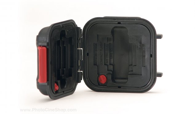 https://photocineshop.com/library/HPRC - Watertight Case 1100 for Memory Card - Black