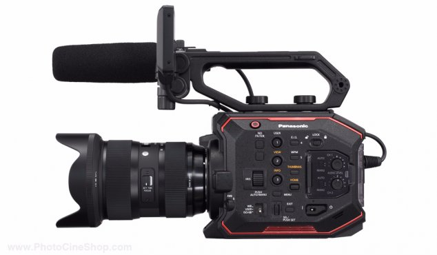 https://photocineshop.com/library/SPECIAL OFFER! Panasonic - AU-EVA1 - Compact 5.7K Super 35mm Cinema Camera +  SONY SD 128 GB Pro, Tough 18x stronger - UHS-II R300 W299 - V90