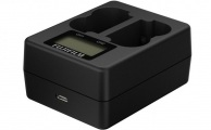 FUJIFILM - Dual Battery Charger for NP-W235 Battery