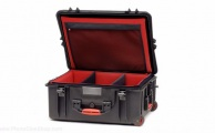 HPRC - Wheeled Case 2700W with Soft Deck and Dividers - Black
