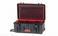 HPRC - Wheeled Case 2550 with Soft Deck and Dividers - Black