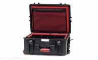 HPRC - Wheeled Case 2600W with Soft Deck and Dividers - Black