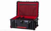 HPRC - Wheeled Case 2760W with Soft Deck and Dividers - Black