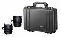 Sigma - Kit 14/135mm FF T2 PL (Pieds) & valise PMC-003