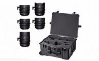 Sigma - Kit 5 optiques FF T1.5 EF (Pieds) & valise PMC-002
