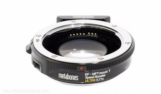 https://photocineshop.com/library/Metabones - Canon EF to MFT Speed Booster Ultra 0.71x