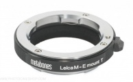 Metabones - MB_LM-E-BT2 - Leica M vers E-mount/NEX (Black Matt)