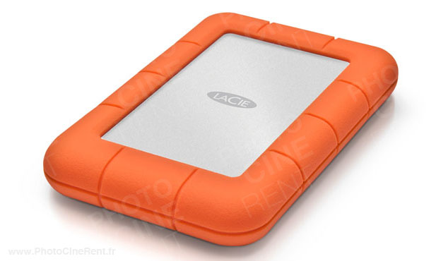 LaCie - 500Go Rugged Mini USB 3.0 7200tr/min