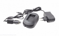 AXCOM - SM-EN-EL20 - Charger for U20 (EN-EL20 Nikon and Black Magic Pocket Design)