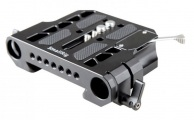 SMALLRIG - ARRI Dovetail Clamp with 19mm Rod Clamp