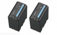 SONY - Pack de 2 batteries BP-U60