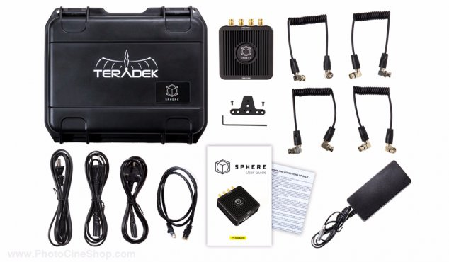 https://photocineshop.com/library/TERADEK - SPHERE-361 - Sphere 360 Monitoring Vidéo en temps réel sans-fil (HD-SDI)