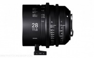 Sigma - Objectif Cine High Speed Plein Format 28mm T1.5 - PL Mount