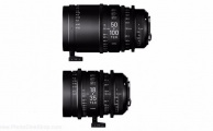 Sigma - Kit 18-35/50-100mm T2 PL (Pieds) & valise PMC-001
