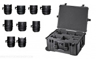 Sigma - Cine 9 Lens Kit (14/135 T2 FF + 20,24,28,35,40,50,85 mm T1.5 FF) + valises (PL - feet)