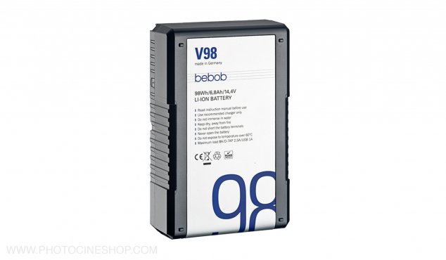 https://photocineshop.com/library/BEBOB - V 98 - V-Mount Li-Ion Battery 14.4V / 98Wh