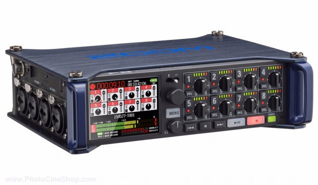 https://photocineshop.com/library/Zoom - F8 Multi-Track Field Recorder