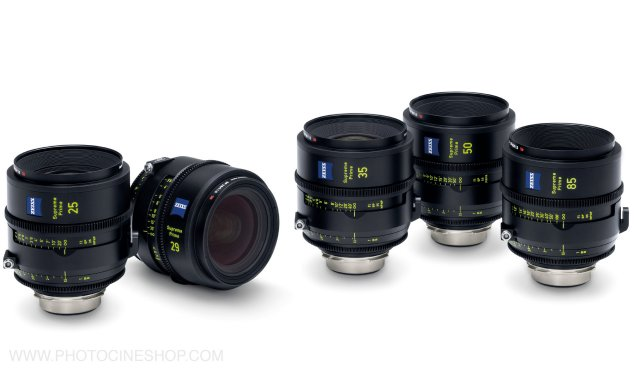 ZEISS - Supreme Prime PL Feet Set of 5 (25, 29, 35, 50, 85mm)