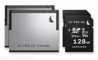 ANGELBIRD - CFast 2.0 & SDXC memory cards for Blackmagic URSA Mini Pro