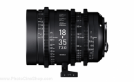 Sigma - Zoom Cine High Speed 18-35mm T2 EF - Pieds
